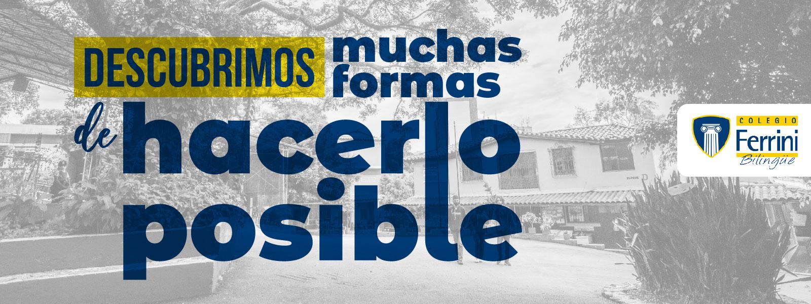 Colegio Ferrini bilingüe  Inscripciones suspension Clases